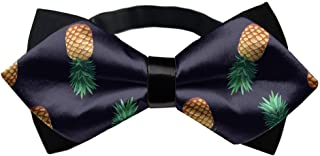 AMERICAN TANG Mens Silk Bowtie Gift Fashion Bow Ties for Men Teen boy Unisex