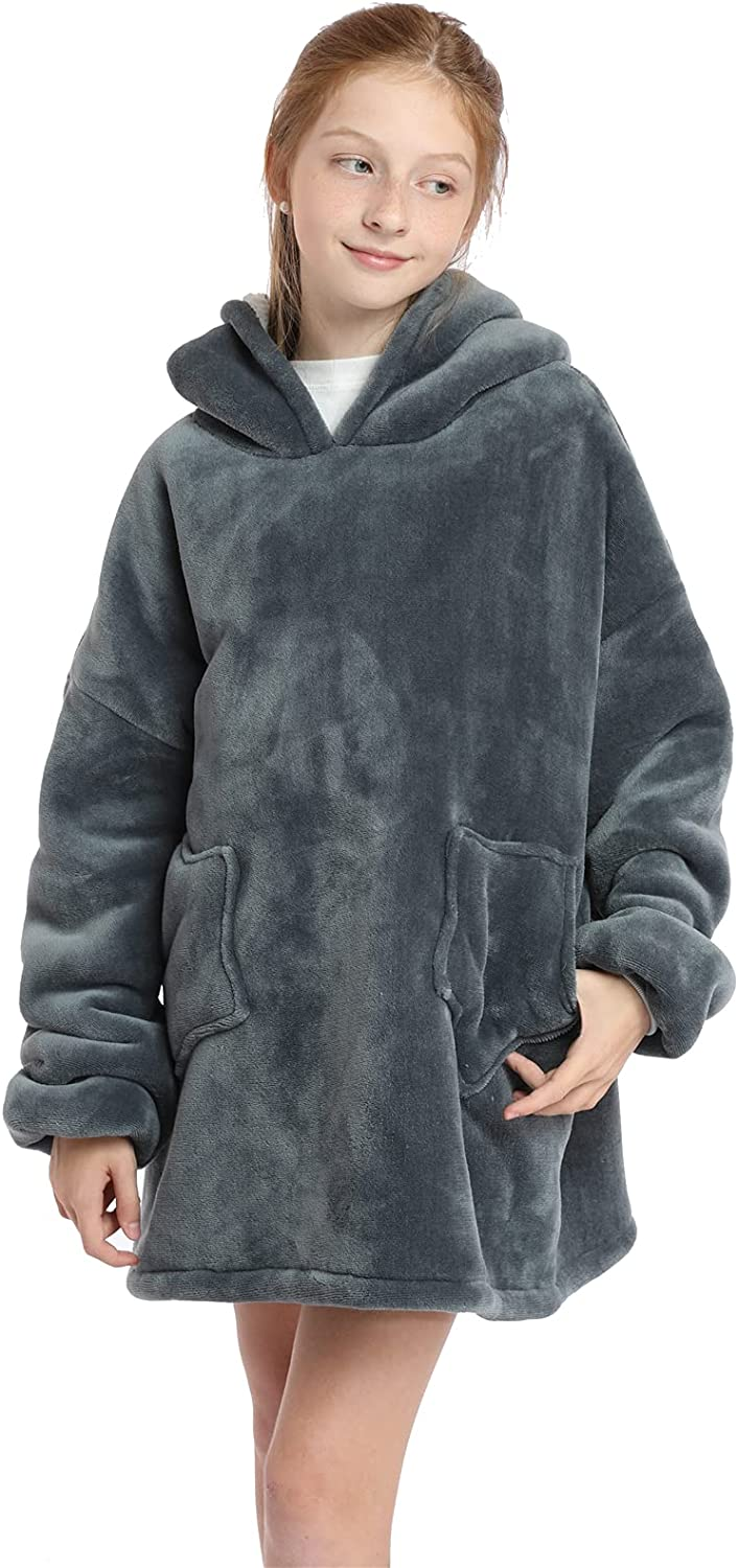 Umeyda Large special price !! Boy's Girl's Cartoon Hoodie Ultra-Cheap Deals for Kids Blankets