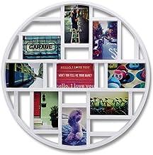 Umbra Luna, Collage Fotolijst Voor 9 Foto's, 10 X 15 Cm Foto's, Wit