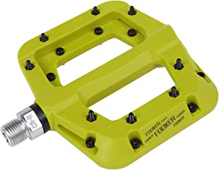 FOOKER MTB Bike Pedal Nylon 3 Bearing Composite 9/16 Mountain Bike Pedals High-Strength Non-Slip Bicycle Pedals Surface for Road BMX MTB Fixie Bikesflat Bike