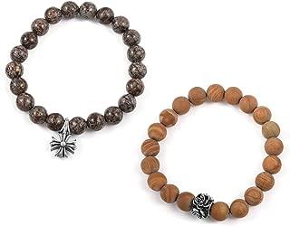 jasper rosary bracelet