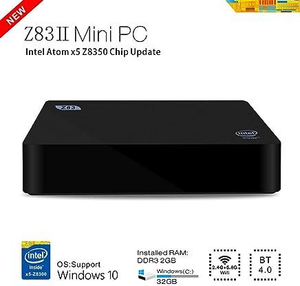 BoLv Z83II Mini PC Intel Atom x5-Z8350 Processor (2M Cache, up to 1.84 GHz) Intel HD Graphics Windows10 OS DDR3 2GB/ Windows(C:) 32GB 1000Mbps LAN Bluetooth 4.0 WIFI IEEE 802.11a/b/g/n 2.4G+5.8G intel mini compute - Confronta prezzi