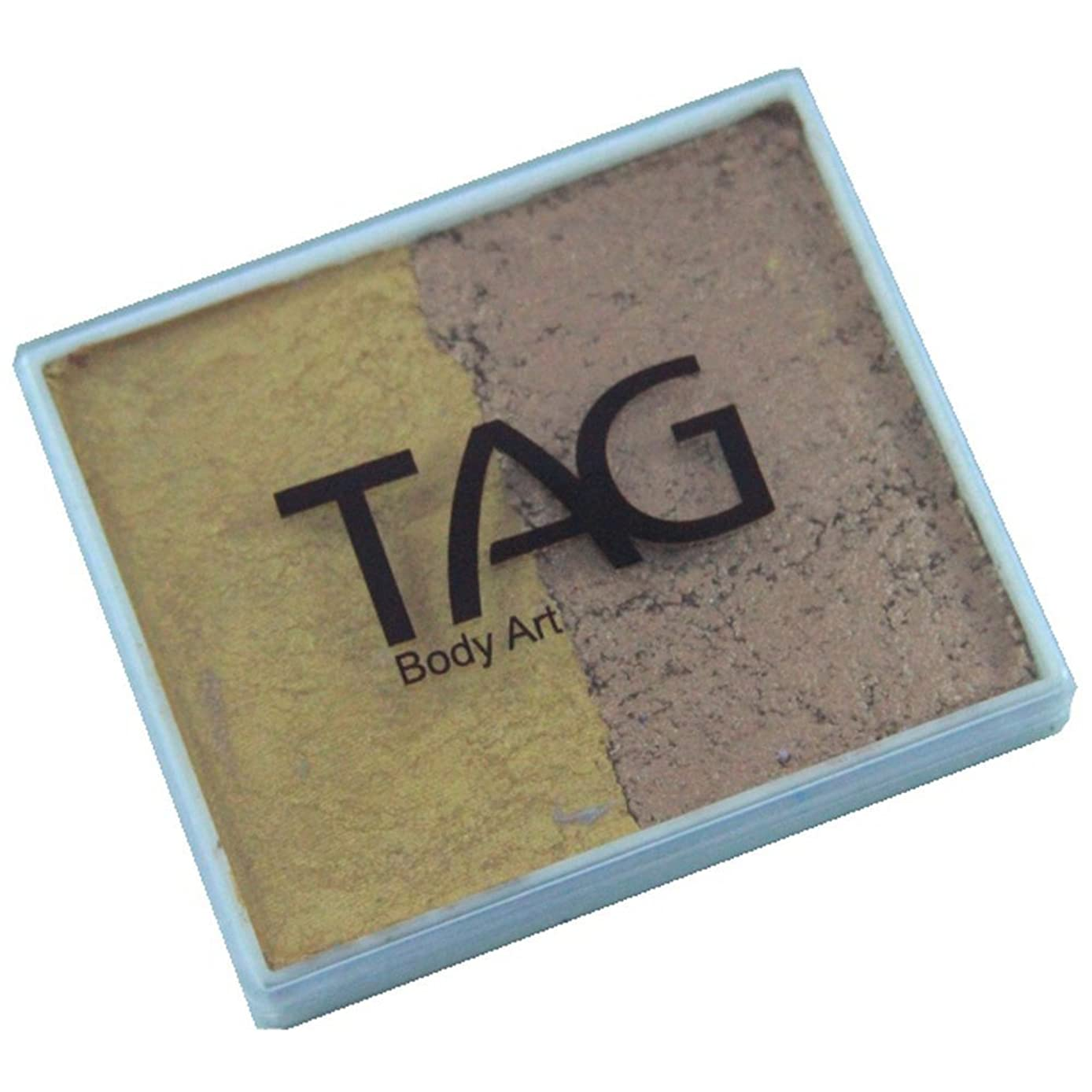 TAG 2 Color Split Cake - Pearl Old Gold and Pearl Gold (50 gm)