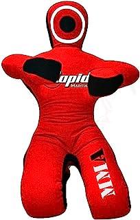 BJJ Jiu Jitsu Grapple Dummy for Submission Drills Doll Like Leg Locks Heel Hooks Ankle Locks Wrist Locks - UNFILLED 5 Feet...