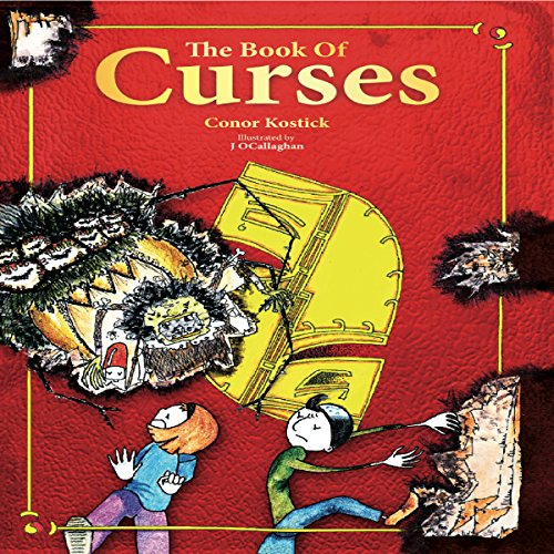 The Book of Curses audiobook cover art