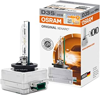 OSRAM XENARC OEM 4300K D3S HID XENON Headlight bulb 66340 by ALI - Made in Germany (Pack of 1)