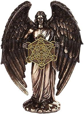 Metatron Angel Orthodox Religious Bronze Finish Statue Figurine