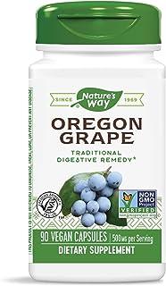 Nature's Way Premium Herbal Oregon Grape Root 500 mg, 90 VCaps