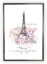 Aroma of Paris アートポスター おしゃれ インテリア 北欧 モノクロ アート #075 A4 ブラックフレーム