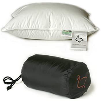 SLEEP Feather & Down Travel Pillow
