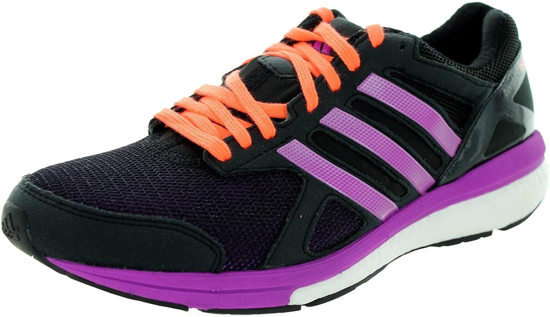 Adidas Woherrar AdiZero Tempo 7 W svart svart svart  lila  Peach springaning skor 9 Kvinnor i USA  detaljhandel