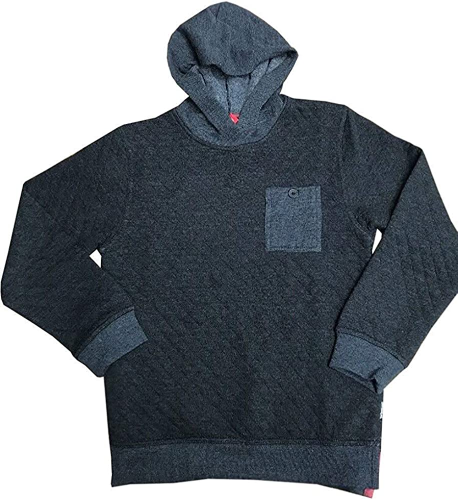 UNIONBAY Boys Quilted Hoodie Pullover Sweatshirt Sweater