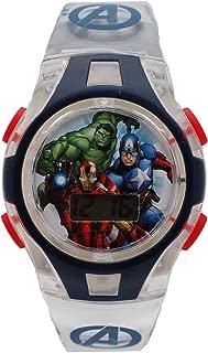 Marvel AVGKD16012LS Boys Avengers LCD Digital Watch with
