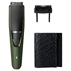 Philips BT3211/15 corded & cordless Beard Trimmer with Fast Charge; 20 settings; 60 min run time