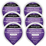 Neutrogena Ageless Boost Creme Maske - Creme Maske mit Adenosin für jünger aussehende Haut Haut - 6 x 10ml