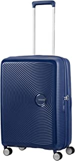 Soundbox - Spinner 55/20 Expandable Suitcase, 55 cm, 35.5 liters, Blue (Midnight Navy)