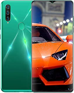A91 Mobile Phones 6.7inch 4800mAh Battery,4G Unlocked Android Cell Phone, 128GB of Storage, Fingerprint ID and Facial Reco...
