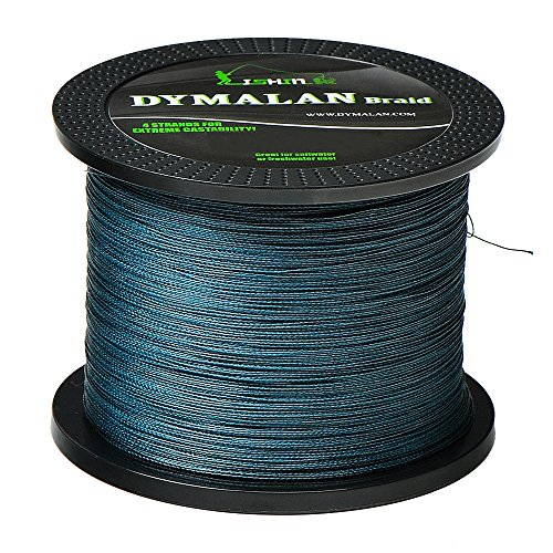 DYMALAN Braid fishing line 4 strands 40LB 500M547YDS diameter Gray PE braided line super strong and thin for riverseaicefly fish with saltwater or freshwater