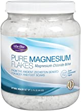 Life-Flo Pure Magnesium Flakes | Magnesium Chloride Brine from Zechstein Seabed | For Relaxing & Rejuvenating Body and Foot Soaks | 44 oz