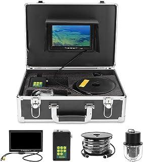 Cámara de pesca submarina TFT de 7 pulgadas, cámara de pesca submarina impermeable IP68, buscador de peces, sistema de mon...