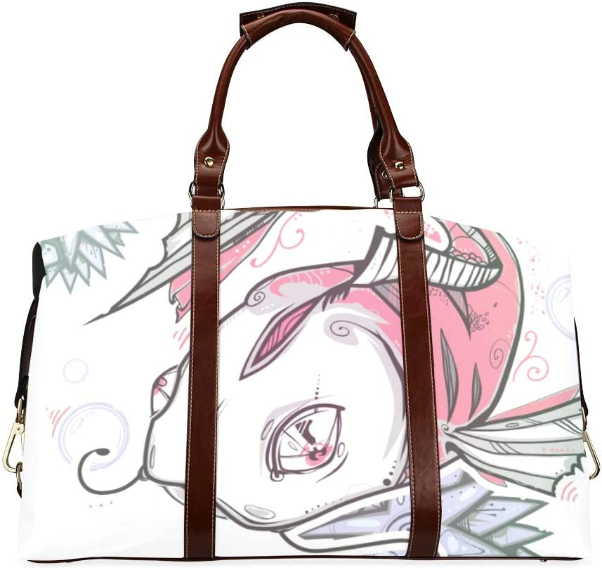 Casual Woman Rapid rise 2021new shipping free shipping Bag Black And White Fish Retro Classic Oversized Wa