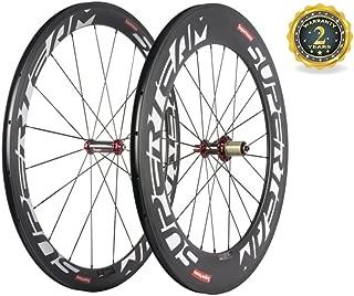 Superteam Front 50mm Rear 88mm Carbon Clincher Wheelset 23mm 700c Bicycle Wheel