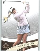 2014 SP Authentic Golf #15 Natalie Gulbis - LPGA Tour Golfer (Sports Trading Cards)
