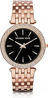 Michael Kors Womens Quartz Watch, Analog Display and Stainless Steel Strap MK3402