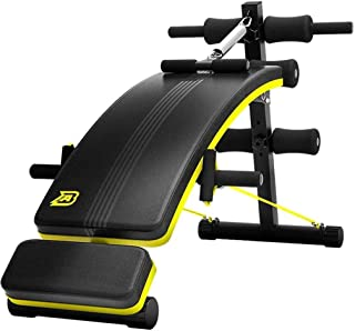 Weight Bench Foldable Dumbbell Bench Abdominal Training Adjustable Incline Bench Home Roman Chair Sit Up Bench