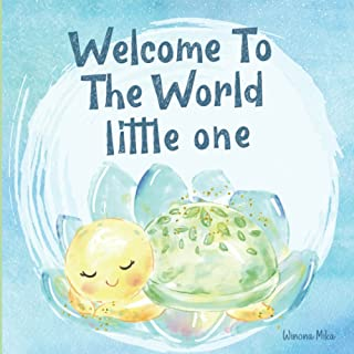 Welcome To the World Little One: A New Baby Keepsake Gift, Beautifully Illustrated Story Book For Parents and Child