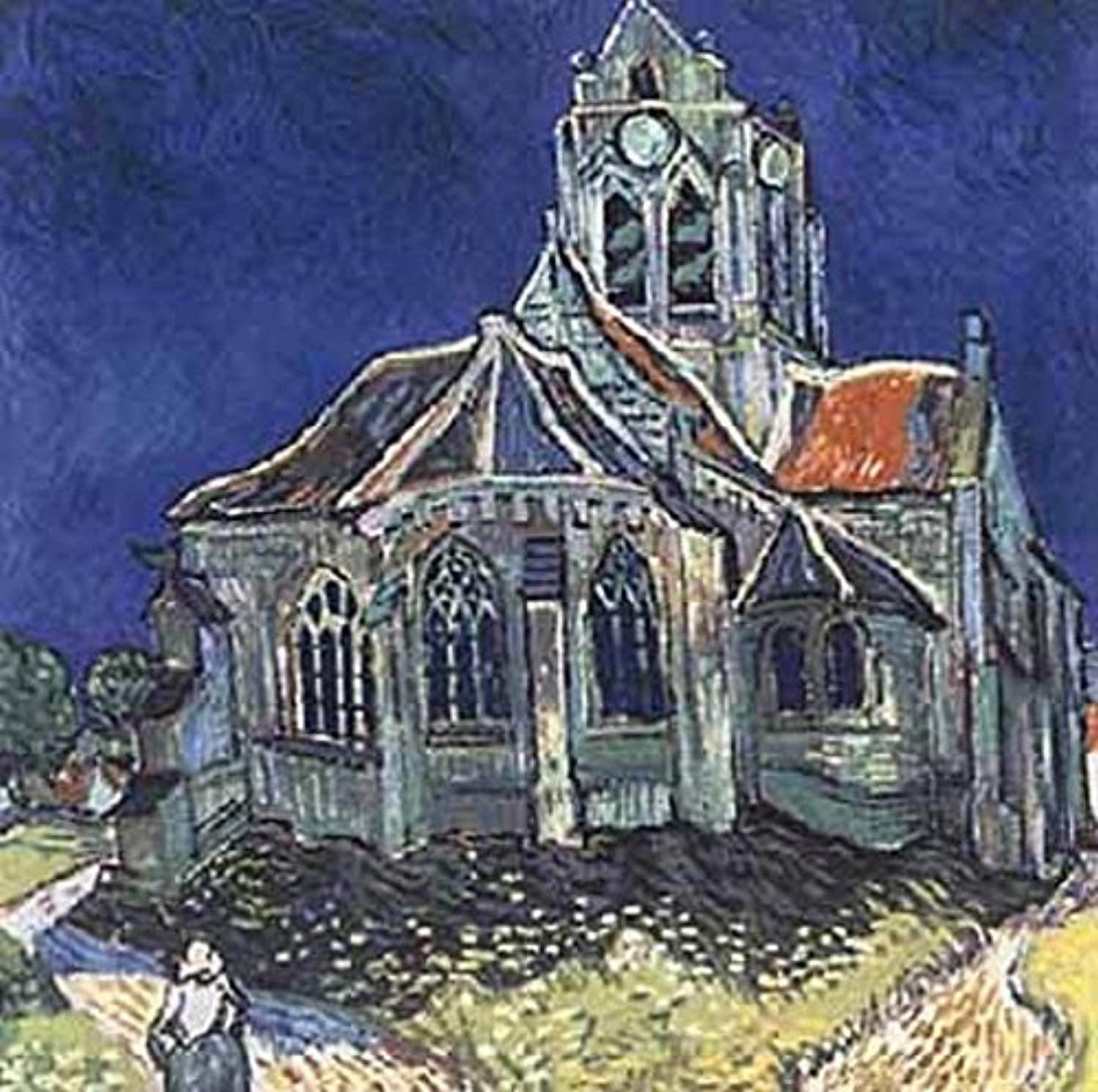 Battle Road Press Church at Auvers 500 Plus Piece Vincent Van Gogh Jigsaw Puzzle