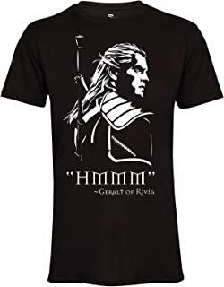 Geralt of Rivia Monster Hunter Men Unisex Tee T-Shirt