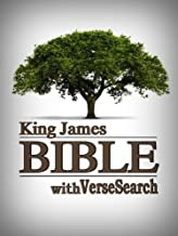 KING JAMES BIBLE with VerseSearch – Red Letter Edition