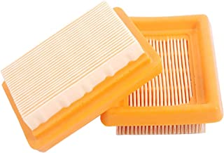 SaferCCTV (Pack of 2) Air Filter Cleaner for Stihl FS120 FS200 FS250 FS300 FS310 FS350 FS400 FS450 FS240R KM130 BT HT SP Trimmer Brush Cutter Replacement# 4134 141 0300