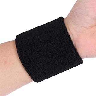 VIOST Wristband Breathable Sport Sweatband Hand Band Sweat Wrist Support Brace Wraps Guards Sprain Forearm Carpal Protection