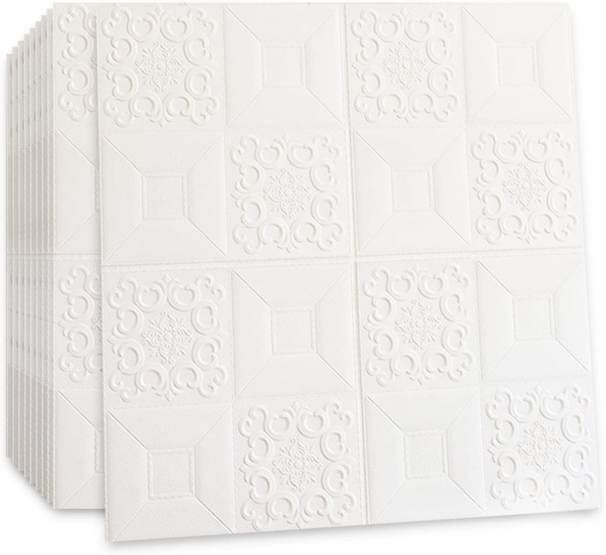 Self-Adhesive 3D Sale Special Price Waterproof PE Foam Wall I Stick Detroit Mall for White Panel