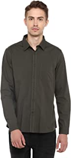 Red Chief Sky Blue Cotton Full Shirts for Men (8110494 060)