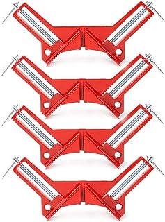 コーナー クランプ木工 溶接 90° 木工定規 直角定規 直角クランプ DIY クランプ (4個セット)