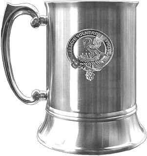 Stewart (Royal) Scottish Clan Crest Pewter Badge Tankard