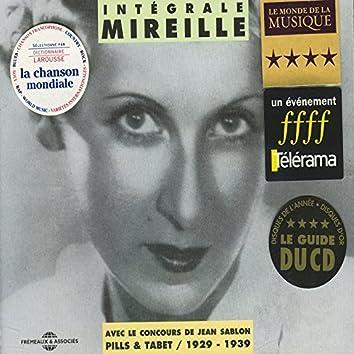 Intégrale Mireille 1929-1939