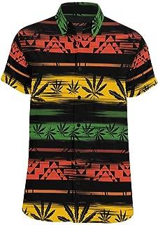 Men's Casual Shirt Maple Near Stream T Shirts Casual Short Sleeve Tee Shirts S-5XL