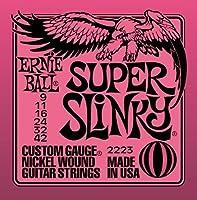 ERNIE BALL SUPER SLiNKY 009-042×3セット