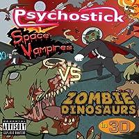 Space Vampires VS Zombie Dinosaurs in 3D