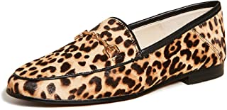 Sam Edelman Women's Loraine Loafers, Leopard, Print, Tan, 5 Medium US