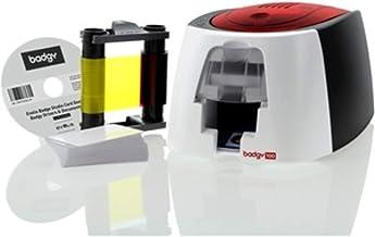 Badgy 100- Impresora, 50 tarjetas