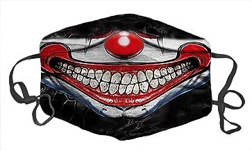 Face Shield Mask Fashion Image Anti Dust Pollution Balaclavas Cotton Mask Unisex