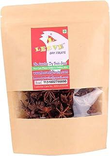 Leeve Dry Fruits Star Anise Badiyan 200 Gram (0.44 lbs)