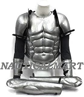Medieval Breastplate SCA LARP Armour Greek muscle armour set