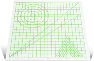 Decdeal 3D Printing Pen Mat Drawing Board with Multi-Shaped Basic Template Art Supplies Tool 3D Pen Accessories Gift for K...
