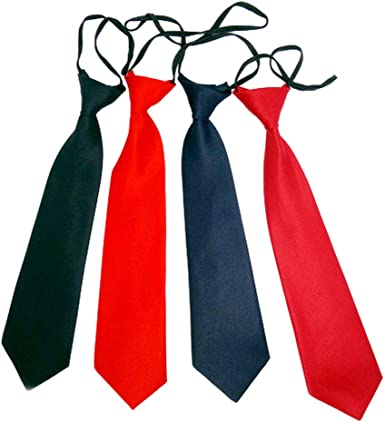 NiñO EláStico Corbata Negro Corbata Negra NiñO Corbata Para NiñOs Con Aire De Seda Corbata Negra Con Goma NiñO Corbata Con Goma Corbata Negra Azul ...